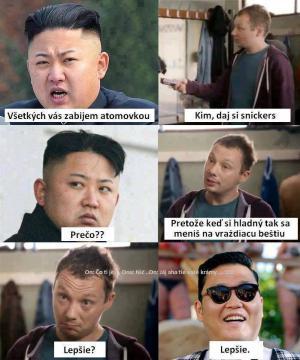 Kim, dej si snickers