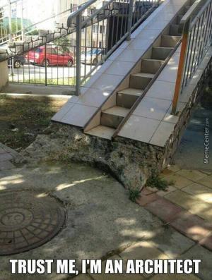 Skvělý architekt!