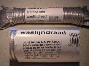 Prádelní šňůra