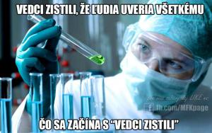Vědci