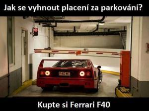 Takto se vyhnete placení za parkování