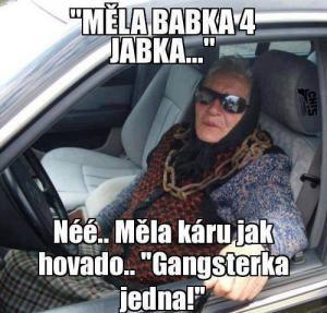 Babka gangsterka:D