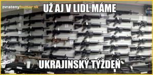 Ukrajinský týden v lídlu