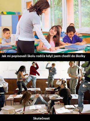 Skutečnost ve škole