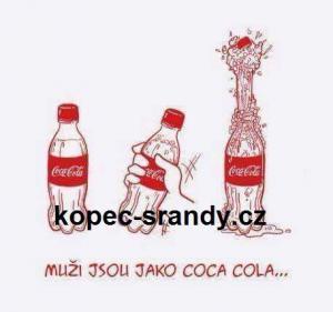 Muži jsou jako coca cola