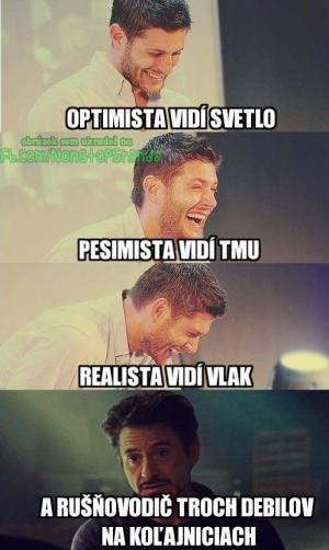 Optimista, Pesimista, Realista