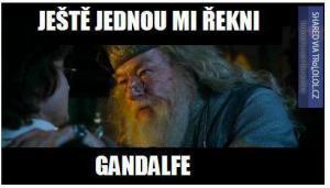 Ještě jednou mi řekni Gandalfe