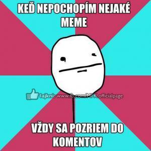 Když nepochopím meme