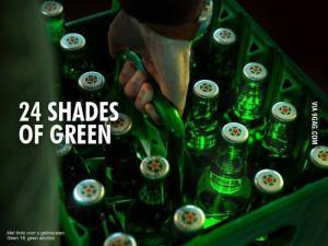 24 odstínů zelené