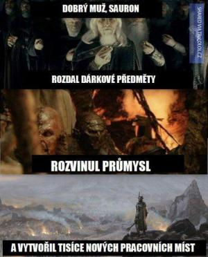 Dobrý muž Sauron :D