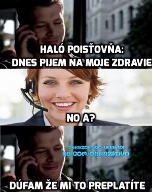 Haló, pojišťovna?