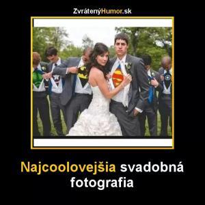 Nejlepší svatební fotka!