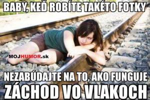 Fotky na kolejích