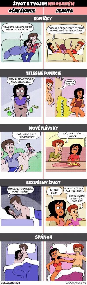 5 situací z každého vztahu