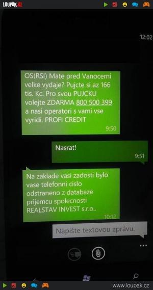 Reklama – SMS