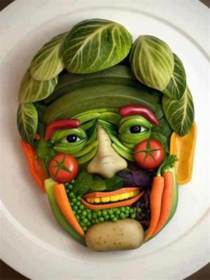Zeleninová tvář