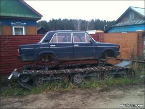 Auto nebo tank?