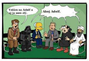 Adolf na sezení