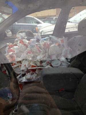 Bordel v autě