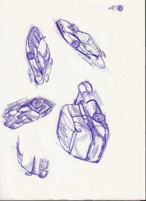 Moja kresba na papier