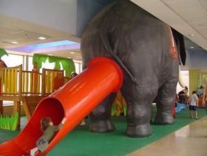 Slonní skluzavka