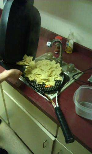 Sportovec vaří