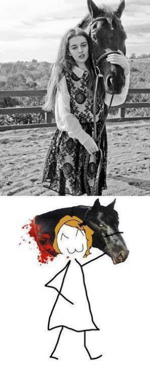 Milovnice koní