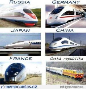 Porovnání vlaků