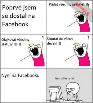 Poprvé na FB