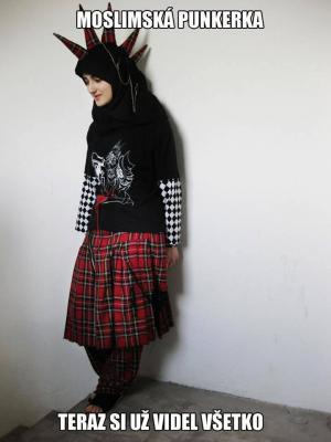 Muslimská punkerka