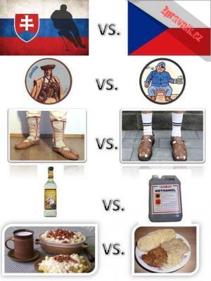 Češi vs. Slováci