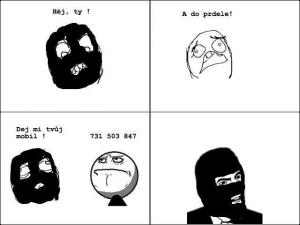 Zloděj a mobil