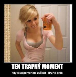 Trapný moment