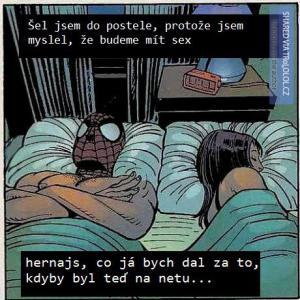 V posteli se ženou