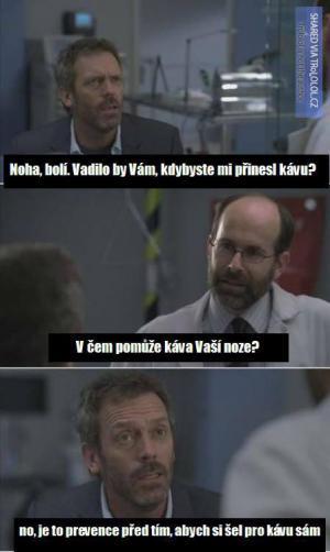 Dr. House a bolavá noha