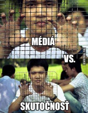 Média vs. skutečnost
