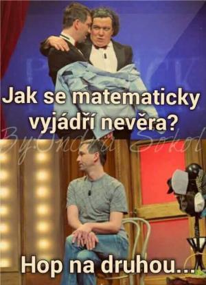 Nevěra v matematice