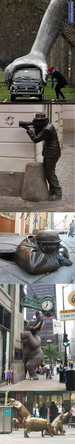 Nejkrutopřísnější sochy