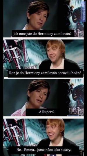 Jak moc jste do Hermiony zamilován?