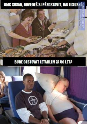 Cestování letadlem