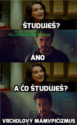 Studuješ?