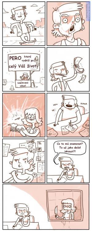Pero na celý život