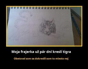 Obrázek tygra