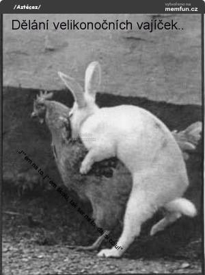 Dělání velikonočních vajíček