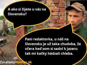 Chudoba na Slovensku