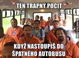 Špatmý bus