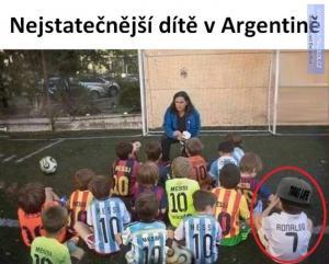 Nejstatečnější dítě v Argentině