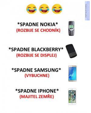Když vám spadne mobil