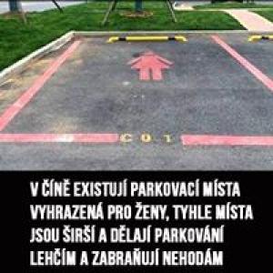 Čínská parkovací místa