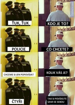 Návštěva policie